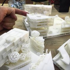 The art of 3d printing makes architecture a lot easier. nexttoparchitects