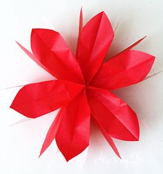 Lunch Bag Flowers! Simple and inexpensive party decoration! They are perfect party decorations!  www.skiptomylou.org #partydecorations #lunchbagflowers #flowers