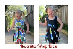 Awesome wrap dress tutorial!!!