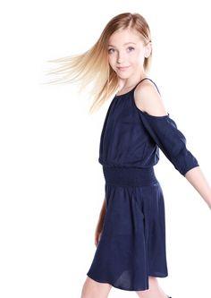 Carly Navy- Tween Girl Dresses - MissBehaveGirls.com