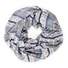 Sole Society - knit print infinity scarf