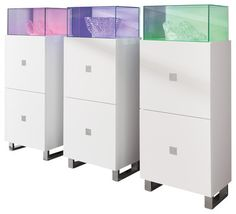 Starlight Display Cabinet CUBE - contemporary - Storage Units And Cabinets - The Collection German Furniture