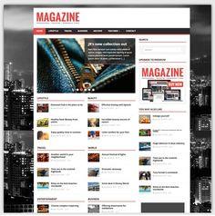 MH magazine theme gratuit WordPress responsive