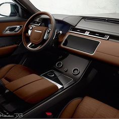 Range Rover VELAR interior color potoshopped by @hamdoon