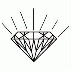 drawings of diamonds | The Logo Of Diamond - Jewelry