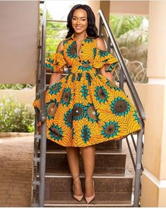 "Today we bring to you ""Pleasing Ankara Gowns to Copy."" These Ankara gowns are unique and they are pleasing. They are so pretty and lovely. Check them out and have blissful day ahead. African Fashion Designers, African Fashion Ankara, Latest African Fashion Dresses, African Print Fashion, Africa Fashion, African Style, African Prints, Ghanaian Fashion, African Fabric"