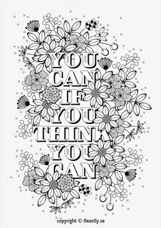 Colouring Pages For Adults Printable Adult Coloring Quote