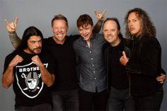 Metallica and Dane DeHaan
