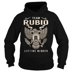 Team RUBIO Lifetime Member - Last Name, Surname T-Shirt