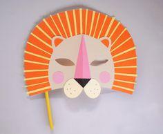 DIY Lion Mask | Little Gatherer