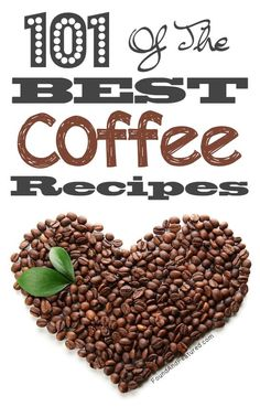 For all of you coffee lovers out there -- A ton of unique yummy recipes!