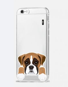 funda-movil-animales-boxer Electronics, Iphone, See Through, Dog Design, Boxer Dogs, Mobile Cases, Animales, Consumer Electronics