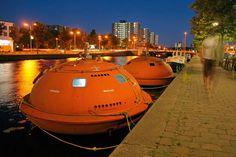 Survival Pod Hotel in Netherlands