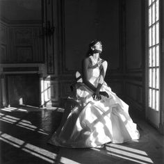 Image result for american photographer known for black and white wedding dress