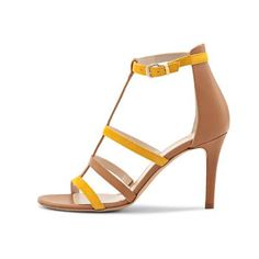 Sandal Shops, Spring Summer 2016, Sunshine, Yellow, Womens Fashion, Collection, Fashion Styles, Branding, Sandals