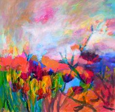 Pink Dawn SOLD  -  Laura Mars artist