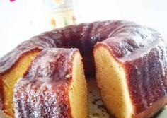 Κέικ λεμονιού με γλάσο λεμονιού Greek Recipes, Doughnut, French Toast, Bread, Cooking, Breakfast, Desserts, Food, Cakes