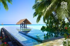 One & Only Reethi Rah Maldives - Reethi-Rah-Lap-Pool http://www.doortomaldives.com/resorts/view/21