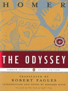 The Odyssey by Homer, http://www.amazon.com/dp/0140268863/ref=cm_sw_r_pi_dp_KoNlrb1A41G6J