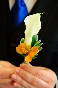 Alstromeria and calla lily