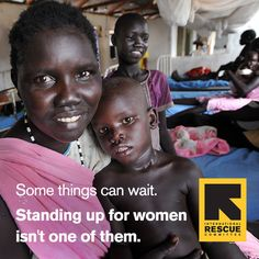 International Women's Day is here.    Share to help the IRC support women and girls uprooted by conflict and disaster.