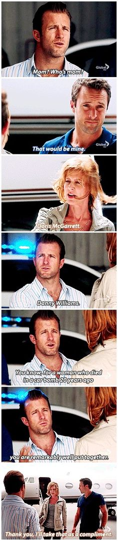 Hawaii Five 0 __ DANNY WILLIAMS STEVE MCGARRETT #MOM #3.01