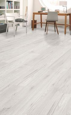 Stylish & Durable Laminate Flooring Ideas That Will Stay Trendy For Years To Come White Laminate Flooring, Wood Tile Floors, Grey Flooring, Flooring Ideas, Living Room Flooring, Bedroom Flooring, Kitchen Flooring, Light Grey Wood Floors, Grey Wood Tile