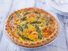 Asparagus Cheddar Quiche Recipe - Food.com