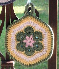 African Flower Motif – Crochet Uncut