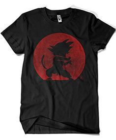 2201-Camiseta Kame Hame Ha - Dragon Ball - Goku (Melonseta) (Negra) (L) #camiseta #friki #moda #regalo
