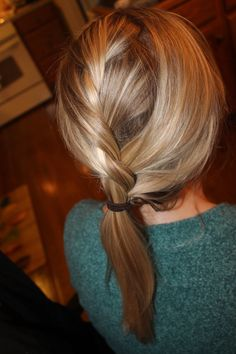 Two Strand French Braid.