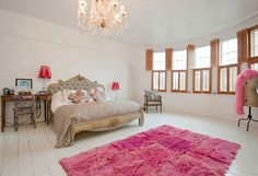 Alkemie: Another Fab London Home with Pops of Pink