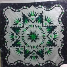 Glacier Star, Quiltworx.com, Made by Haley Harvey