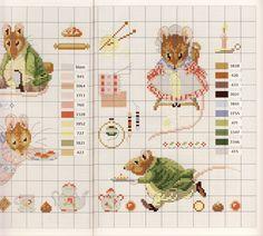 Gallery.ru / Фото #39 - Veronique Enginger. Le monde de Beatrix Potter - CrossStich