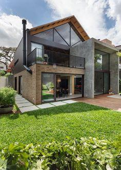Modern Exterior House Designs, Design Exterior, Modern Farmhouse Exterior, Dream House Exterior, Residential Architecture, Architecture Design, Sustainable Architecture, Contemporary Architecture, Building Design
