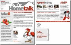 Realtor  Realty Agency  Newsletter Template Design  Real Estate