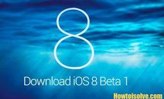 How to install iOS 8 Beta in iPhone, iPad and iPod touch  Install iOS 8 in your Apple device,  iOS 8 beta installation guide - Step by Step guide  Stay Touch with More awesome updates in iOS.