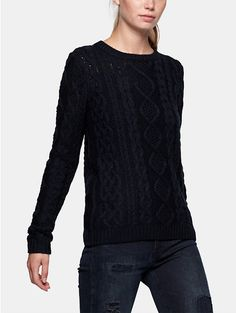 Trui, Bien Bleu Cable pullover - The Sting