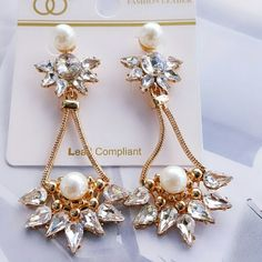 STUNNING FASHION EARRINGS New Earrings Post back Closures Style your look around these. Fashion Leader Jewelry Earrings