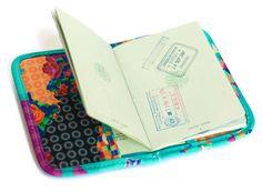 Capa para passaporte - Linha Viagem Papel Craft