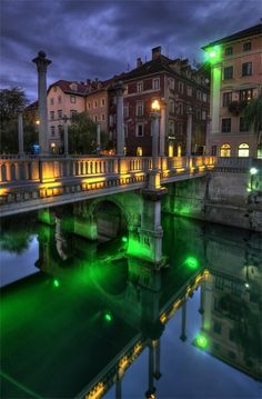 Ljubljana, sLOVEnia…the land of our BeeZee EcoKid brand...and yes, it truly does look like that :D