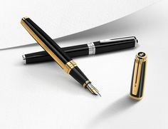 The Waterman Exception pen represents a technical triumph for the inventive minds at Waterman. Waterman Fountain Pen, Waterman Pens, Fountain Pen Ink, Parker Pens, Vintage Pens, Fine Pens, Sealing Wax, Writing Pens, Rollerball Pen