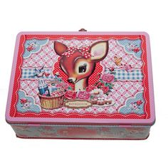 Deer+Lunch+Box,+$16, now featured on Fab.