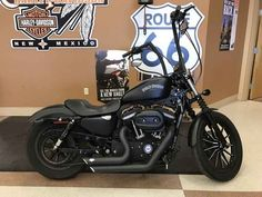 Used 2013 Harley-Davidson XL883N - Sportster Iron 883 Motorcycles For Sale in New Mexico,NM. 2013 Harley-Davidson XL883N - Sportster Iron 883, Blacked out apes & pipes make this one bad Iron. 2013 Harley-Davidson® Sportster® Iron 883 The 2013 Harley-Davidson® Sportster® Iron 833 model XL883N is an amazing way to get started with a custom motorbike. From the authentic Harley® 883 cc engine to the chopped fenders to the peanut fuel tank, every piece of the Harley® Sportster® Iron 883…