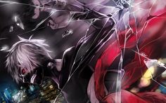 Image de tokyo ghoul, anime, and kaneki ken