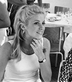 Catherine Deneuve, 1960's style.