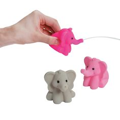 party favors: Pink Elephant Squirts - OrientalTrading.com
