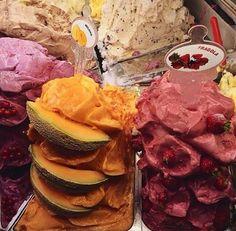 Ice cream!! Cravings, Ice Cream, Beef, Fruit, Breakfast, Recipes, Scream, Food, Sherbet Ice Cream
