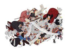Let's Talk Picture Books: Let's Talk Illustrators Júlia Sardà Julia Sarda, John Kenn, Difficult Children, Children's Book Illustration, Book Illustrations, Book Design, Decoration, Alice In Wonderland, Childrens Books