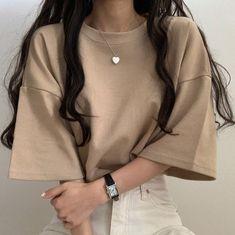 Korean Girl Fashion, Korean Fashion Trends, Korean Street Fashion, Cute Fashion, Asian Fashion, Look Fashion, Fashion Outfits, 70s Fashion, Fashion Tips